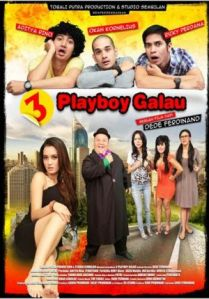 3 Playboy Galau (Tobali Putra Production/Studio Sembilan Production, 2013)