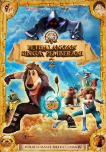 Paddle Pop Begins: Petualangan Singa Pemberani 2 (Batavia Pictures/Pop Up 3D Productioon, 2013)