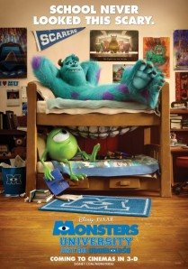 Monsters University (Pixar Animation Studios/Walt Disney Pictures, 2013)