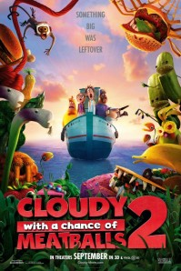Cloudy with a Chance of Meatballs 2 (Columbia Pictures/Sony Pictures Animation Film/Sony Pictures Imageworks, 2013)