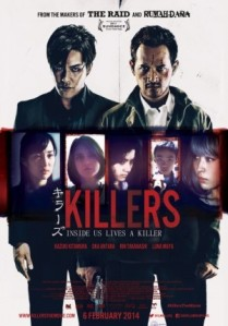 Killers (Nikkatsu/Guerilla Merah Films/Damn Inc./Media Prima Production/PT Merantau Films/Million Pictures/Holy Bastard, 2014)