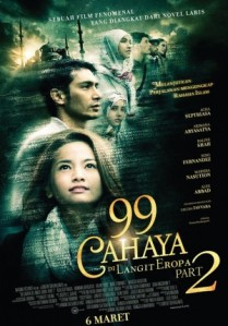 99 Cahaya di Langit Eropa Part 2 (Maxima Pictures, 2014)