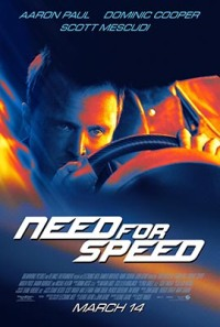 Need for Speed (DreamWorks Pictures/Reliance Entertainment/Electronic Arts/Bandito Brothers, 2014)