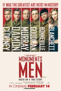 The Monuments Men (Columbia Pictures/Fox 2000 Pictures/Smokehouse Pictures/Studio Babelsberg, 2014)
