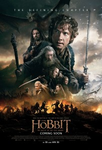The Hobbit: The Battle of the Five Armies (New Line Cinema/Metro-Goldwyn-Mayer/WingNut Films, 2014)