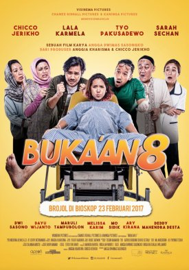 bukaan-8-chicco-jerikho-lala-karmela-movie-poster