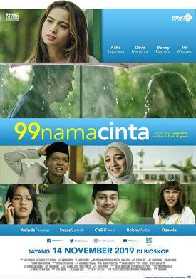 99-nama-cinta-acha-septriasa-deva-mahenra-film-indonesia-movie-poster