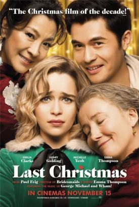 last-christmas-emilia-clarke-henry-golding-michelle-yeoh-emma-thompson-movie-poster